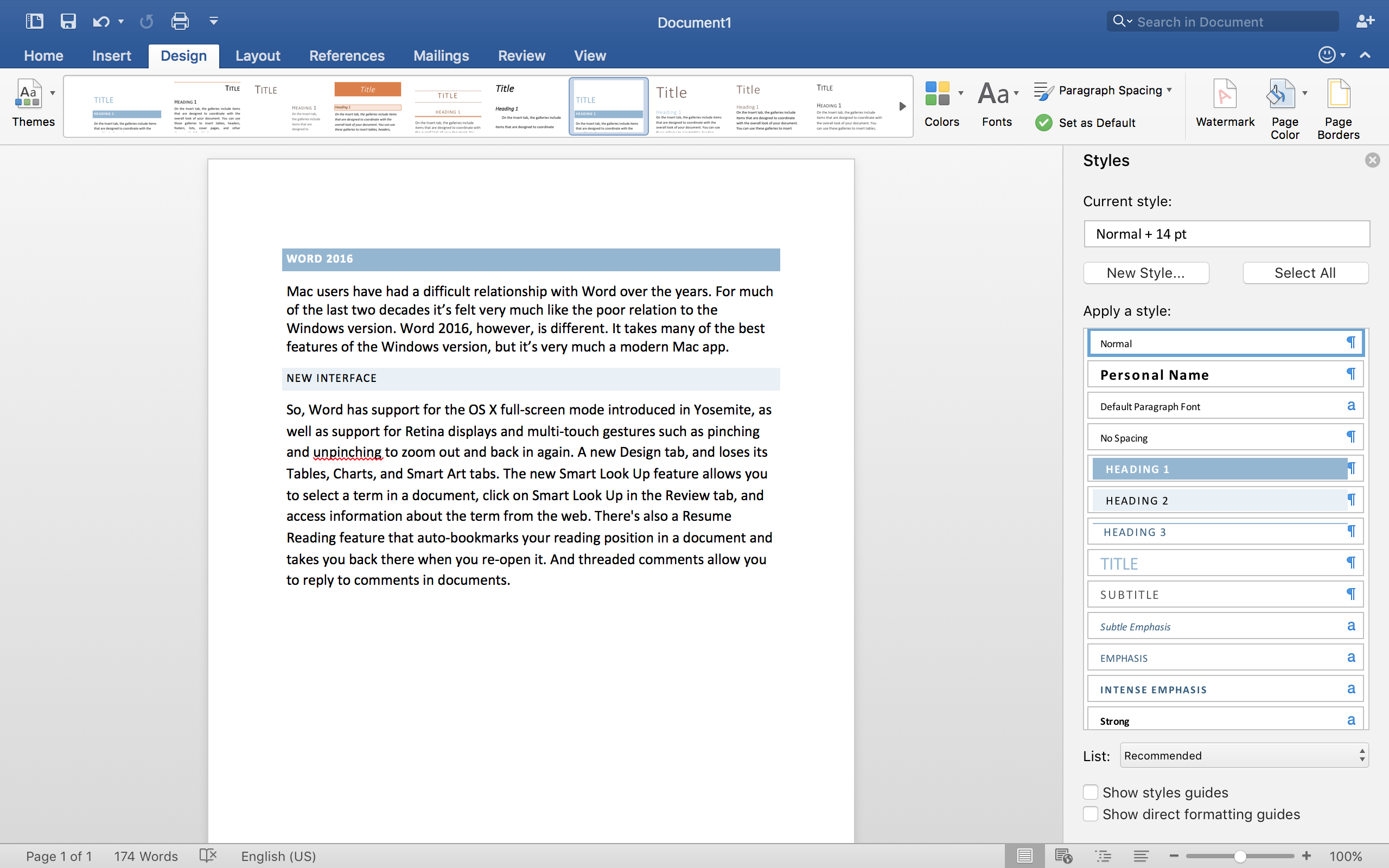 Microsoft word for mac free trial